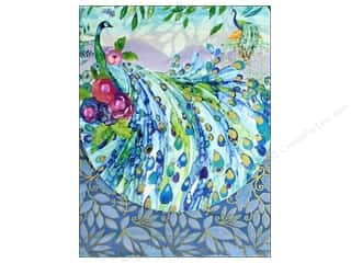 Punch Studio Note Pad Pocket Peacock