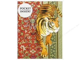 Punch Studio Note Pad Inside Pocket Tiger