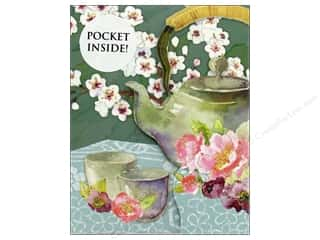 Clearance: Punch Studio Note Pad Inside Pocket Teapot