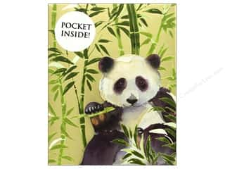 Clearance: Punch Studio Note Pad Inside Pocket Panda