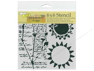 scrapbooking & paper crafts: The Crafter's Workshop Stencil 6 in. x 6 in. Journal Musings