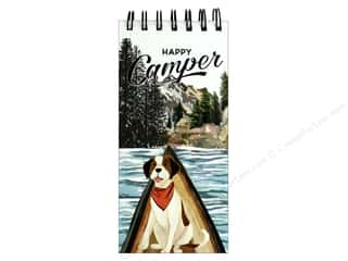 Molly & Rex Note Spiral List Pad Happy Camper