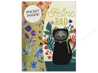 Molly & Rex Note Mini Portfolio Pocket Pad Feline Rad