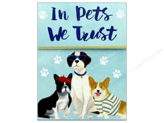 Magnets: Molly & Rex Note Cats & Dogs Pocket Pad Pets We Trust