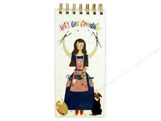 Molly & Rex Note Spiral List Pad Let's Be Creative