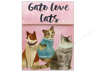 Clearance: Molly & Rex Note Cats & Dogs Pocket Pad Love Cats