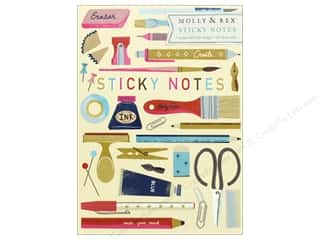 Clearance: Molly & Rex Note Sticky Pad Portfolio Art Lover