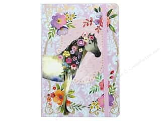 Punch Studio Journal Soft Cover Bungee Horse/Flower
