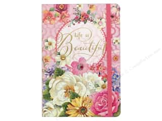 novelties: Punch Studio Journal Soft Cover Bungee Life Is Beautiful