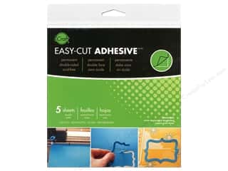 craft & hobbies: Therm O Web iCraft Easy Cut Adhesive Sheets 5 3/4 in. 5 pc.