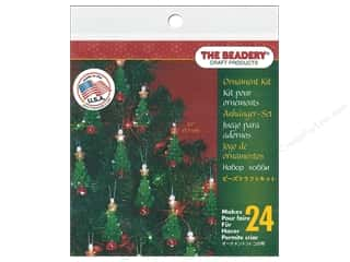 beading & jewelry making supplies: Beadery Craft Kit Ornament Mini Tree