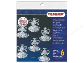 The Beadery Kit Ornament Crystal Angels