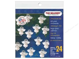 beading & jewelry making supplies: The Beadery Ornament Kit Littlest Angels