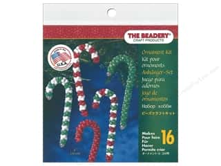 craft & hobbies: The Beadery Kit Ornament Candy Cane Assorted