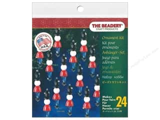Beadery Craft Kit Ornament Mini Toy Soldier