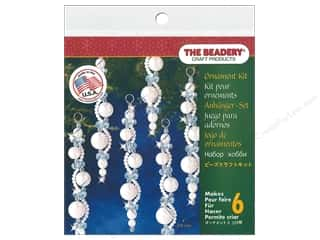 The Beadery Kit Ornament Pearl Icicles