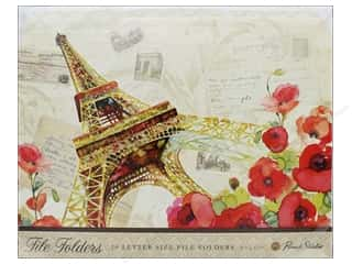 Punch Studio File Folder Eiffel Tower (10 pieces)