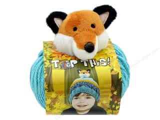 acrylic knitting needle: DMC Yarn Kit Top This Fox