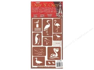craft & hobbies: Armour Over 'N' Over Stencil Water Birds
