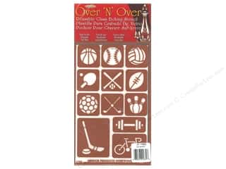 craft & hobbies: Armour Over 'N' Over Stencil Sports
