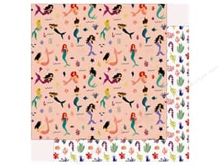 Echo Park Collection Mermaid Tales Paper 12 in. x 12 in. Mermaid Paradise (25 pieces)