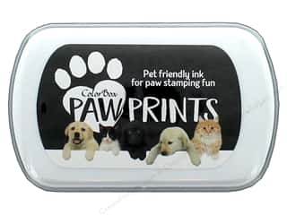ink pad: ColorBox Paw Prints Ink Pad Black