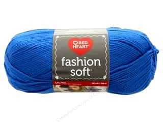 Red Heart Fashion Soft Yarn 385 yd. #4815 Cobalt