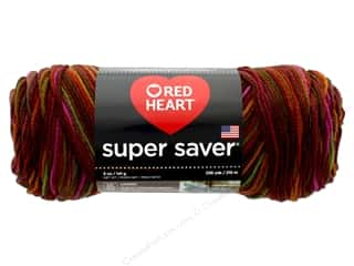 yarn & needlework: Red Heart Super Saver Yarn #0944 Cherrycola 244 yd.