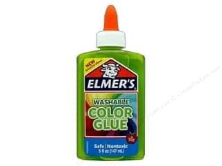 Elmer's Washable Color Glue 5 oz. Transparent Green
