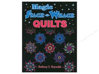 books & patterns: American Quilter's Society Magic Stack-N-Whack Quilts Book by Bethany S. Reynolds