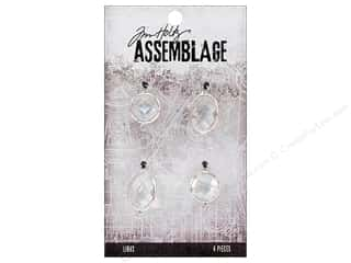 beading & jewelry making supplies: Tim Holtz Assemblage Links Glass Chandelier