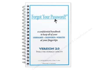 books & patterns: CG Publishing Forgot Your Password Book