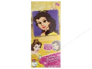 yarn & needlework: Dimensions Latch Hook Kit 12 in. x 12 in. Disney Belle