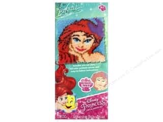 yarn & needlework: Dimensions Latch Hook Kit  12 in. x 12 in. Disney Ariel