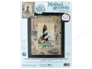 yarn & needlework: Dimensions Cross Stitch Kit 4 in. x 6 in. Light At Sea/Mat