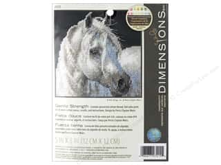 Dimensions Cross Stitch Kit 5 in. x 5 in. Gentle Strength