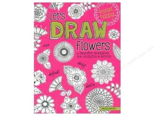 Design Originals Let's Draw Flowers Book