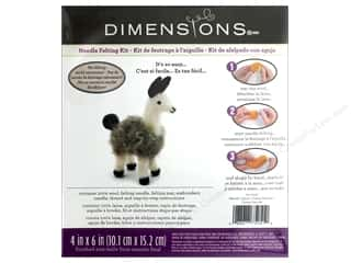 yarn & needlework: Dimensions Needle Felting Woolly Llama