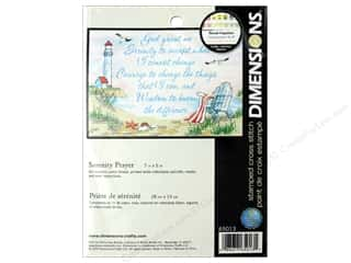 yarn & needlework: Dimensions Cross Stitch Kit 7 in. x 5 in. Serenity Prayer