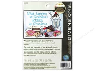 Dimensions Cross Stitch Kit 7 in. x 5 in. Happens At Grandma's