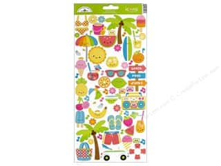 Doodlebug Collection Sweet Summer Sticker Icon