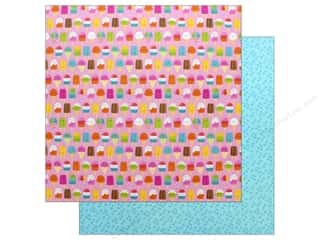 Doodlebug Collection Sweet Summer Paper 12 in. x 12 in. Sweet Summer
