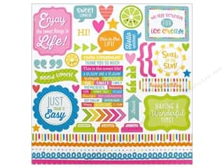 Doodlebug Collection Sweet Summer Sticker This & That