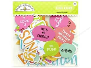 die cuts: Doodlebug Collection Sweet Summer Chit Chat