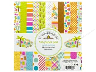 Doodlebug Collection Sweet Summer Paper Pad 6 in. x 6 in.