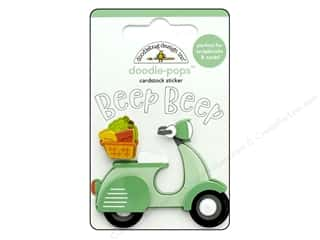 Doodlebug Collection Sweet Summer Doodle Pops Beep Beep
