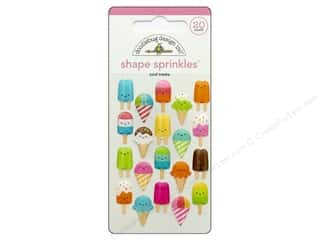 Doodlebug Shape Sprinkles - Cool Treats