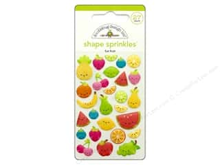 Doodlebug Collection Sweet Summer Sprinkles Shape Fun Fruit