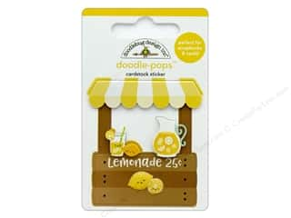 Doodlebug Collection Sweet Summer Doodle Pops Lemonade Stand