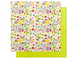Doodlebug Collection Sweet Summer Paper 12 in. x 12 in. Summer Fun